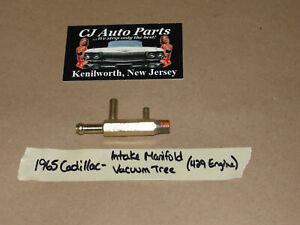 OEM 65 Cadillac 429 Engine INTAKE MANIFOLD VACUUM TREE TEE