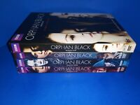 LOT OF ORPHAN BLACK TV SERIES SEASON 1 2 3 4  DVD'S DVD 1-4 - NICE COLLECTION!