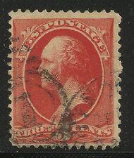 US Scott #214, Single 1887 George Washington 3c Fine+ Used