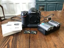 Nikon D4 Digital SLR Camera - Camera works fine but XQD Card slot not working!