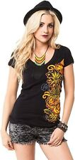 Metal Mulisha Ladies Sophisticated Edge Tee Size XS