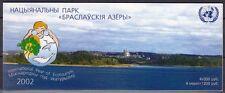 Biélorussie le Belarus 2002 markenheft livret MH 5 ** écotourisme