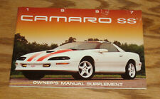 1994 GM Chevy Chevrolet CAMARO Owner Operator Owners Operators Manual OEM