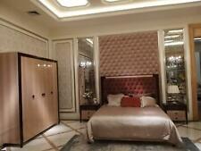 Bett 2x Nachttisch 3 tlg. Schlafzimmer Set Design Modern Luxus Chesterfield neu