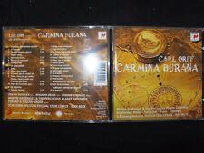 CD CARL ORFF / CARMINA BURANA / BECK /