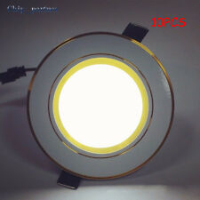 10PCS LED Panel Down Light High Power Downlights Lamp Recessed Ceiling Light Lot