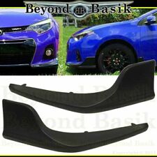 "For 2014 2015 2016 TOYOTA COROLLA ""S Model Only"" Front Body Kit Lip 2 pcs"
