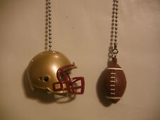 BOSTON COLLEGE EAGLES HELMET AND FOOTBALL CEILING FAN PULL CHAINS