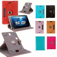 "360 Degree Rotate PU Leather Case For Amazon Tablet 7"" 10"" Tab PC Stand Cover"