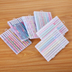 10pcs Student Color Kandelia Korean Stationary Cute Watercolor Pen Gel Pens