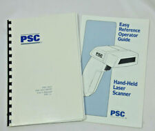 USER MANUAL + GUIDE FOR PSC 5317 HP/IP Hand-Held LASER BARCODE Scanner 90 Pages