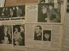 Duran Duran, Three Page Vintage Clipping
