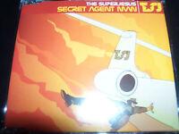 The Superjesus / Sarah Mcleod Secret Agent Man Rare 4 Track CD Single