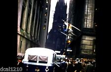 Original RED BORDER KODACHROME 35MM Slide #26 NEW YORK CITY BUS