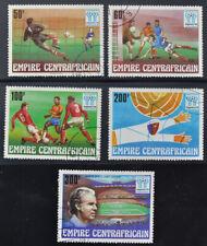 Centraal Afrikaanse Rep. 1978 WK Voetbal - Michel 600-04  gebruikt (0716-1)