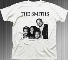 Los Smiths a funny Música Rock Impreso Blanco En Algodón tc9843