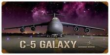 Lockheed C-5 Galaxy Military Aircraft Metal Sign Man Cave Garage Club Shop LM014