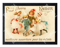 Historic Knorr Foods For Children 1900s Advertising Postcard