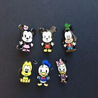 Disney Catalog - Cuties - Mickey & Friends 6 Pin Set LE 1000 Disney Pin 37779