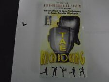 TAE KICKBOXING AERO-KICKBOXING SYSTEM WITH FAIRLIE ARROW VHS NEW 056775010133