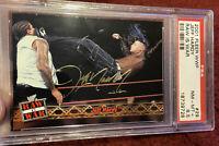 2001 Fleer WWF #29 Jeff Hardy Rookie Card Psa 8.5 Pop 1 Of 1 Raw Is War