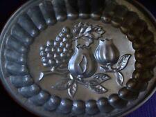 Moule à gâteau cuivre décor fruits