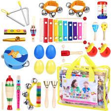 Percussion Set Kinder Kleinkind Musikinstrumente Spielzeug Band Rhythmus 23 Toys