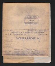 More details for thorpes bridge junction (railway diagram)