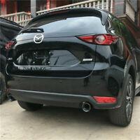 Schwarz Auspuffblende Auspuff Endrohr Sport Blende für Mazda CX-5 KE KF CX-3