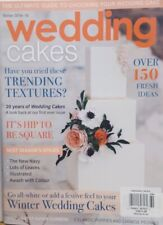 Wedding Cakes UK Winter 2018-19 Trending Textures Winter Cakes FREE SHIPPING CB