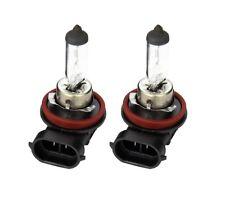 2 x Halogen Bulb 12V 35W H8 PGJ19-1 Headlamp Headlight 11.6mm Ring RU708 Pair