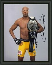 Anderson Silva - UFC FIGHTER CHAMP A4 SIGNED AUTOGRAPHED PHOTO POSTER FREE POST