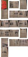 Buch von 1903-12-Abbildungen-Wissen- Bericht zu Zirkus Amerika-Montbanc Besteigu