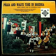 ERNST MOSCH polka and waltz time in bohemia LP VG+ TP-2511 Mono Vinyl Telefunken