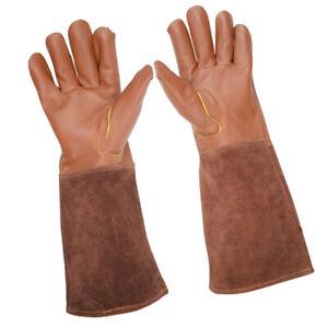 Gardening Gloves for Women/Men, Rose Pruning Thorn & Cut Proof Gauntlet, S