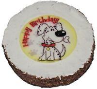 BIRTHDAY CAKE - (1pk) - Hatchwells Dog Treat Biscuit Pet Food PawMits bp Present