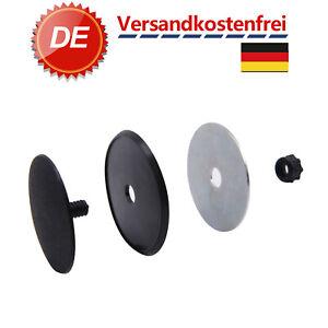 Blindstopfen Schraube Heck Scheiben Wischer Antenne 46mm Chrom Abdeckung Auto