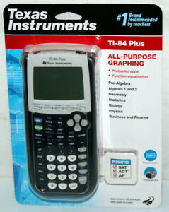 Texas Instruments TI-84 Plus All-Purpose Graphing Calculator BRAND NEW SEALED