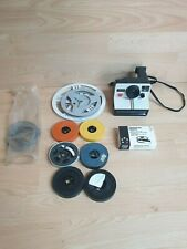 Polaroid Instant 1000 - RED Button Land Camera + Random projector films home vid