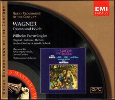 WAGNER: TRISTAN UND ISOLDE Suthaus Flagstad Fischer-Dieskau FURTWÄNGLER EMI 4CD