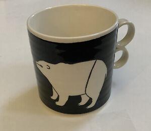 "New Anthropologie ""KEEP CO"" Keep Company Polar Bears Mug"