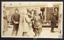 RUSSIA SIBERIA TRAIN PETERBURG HARBIN 1917 TABACCO PH.