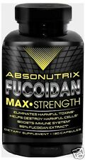 120 Capsules Absonutrix Fucoidan Pure Brown Seaweed Extract 500 mg immune
