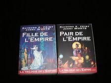 Raymond E Feist & Janny Wurtz : Cycle Trilogie de l'Empire 1 & 2 GF