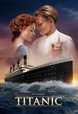 TITANIC MOVIE * Jack & Rose *  QUALITY CANVAS PRINT