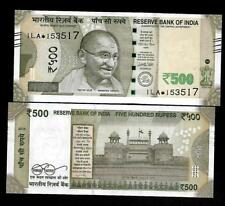 "Rs.500/- Urjit Patel  Star Note ""E"" Inset  Prefix 1LA  2016 - UNC  LATEST"
