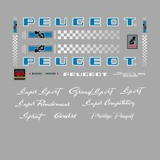 Peugeot PX10, PY10 Bicycle Stickers - Decals - Transfers - n.0359