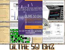 MISURE ELETTRICHE MICROONDE VHF UHF fino 50 GHz MANUALE A BASSO COSTO in CD ROM