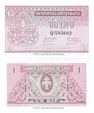 Laos 1 Kip ND (1962) P-8 Banknotes UNC