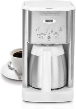 Cuisinart DCC-1400 Brew Central 10-Cup Thermal Coffee Maker, White